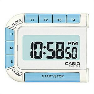 CASIO カシオ クロック TMR-71S-7JH デジタル 置時計 タイマー