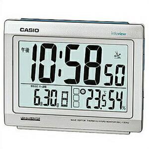 CASIO カシオ 置時計 DQL-130NJ-8JF シャインシルバー 4971850970712