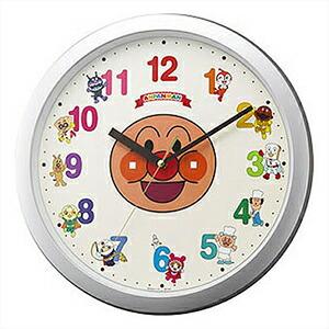 RHYTHM リズム時計 クロック 4KG713-M19 掛時計 アンパンマンM713