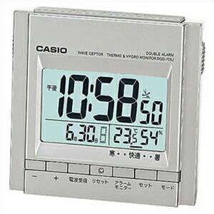 CASIO カシオ クロック DQD-705J-8JF デジタル 電波 置時計