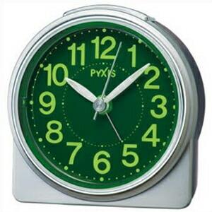 SEIKO セイコー クロック NR439S 目覚まし時計 置時計 PYXIS ピクシス