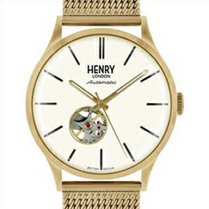 HENRY LONDON ヘンリーロンドン 腕時計 HL42-AM-0284 ユニセックス HERITAGE ヘリテージ 自動巻き