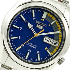 海外SEIKO 海外セイコー 腕時計 SNK371K1 メンズ 男 SEIKO5(セイコー5) 文字盤カラー ブルー