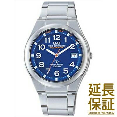 Q&Q キュー&キュー 腕時計 HG12-215 メンズ ソーラー 電波時計