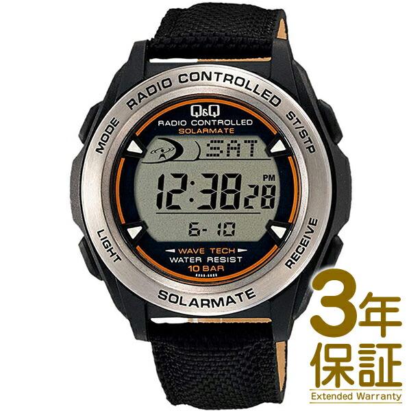 【正規品】Q&Q キュー&キュー 腕時計 MHS7-340 メンズ CITIZEN シチズン チプシチ ソーラー 電波