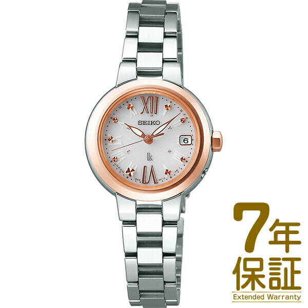 14bc89d97d53 SEIKO セイコー 腕時計 SSVW138 レディース LUKIA ルキア ソーラー電波修正