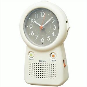 SEIKO セイコー クロック EF506C 目覚まし時計 録音再生機能付
