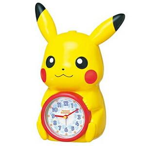 SEIKO セイコー クロック JF379A 目覚まし時計 ポケットモンスター ポケモン ピカチュウ