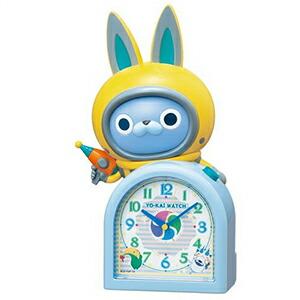 SEIKO セイコー クロック JF380A 目覚まし時計 妖怪ウォッチ USAピョン