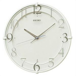 SEIKO セイコー クロック KX215W 電波 掛時計 スタンダード