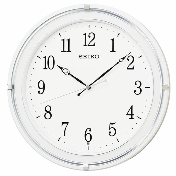 SEIKO セイコー クロック KX231W 掛時計 スタンダード 電波時計