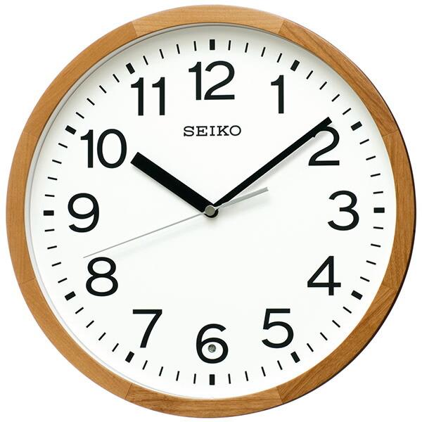 【正規品】SEIKO セイコー クロック KX249B スタンダード 電波掛け時計