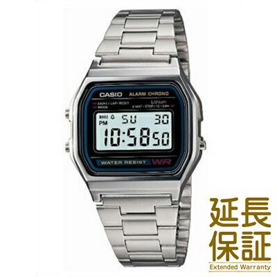 【3年延長保証】CASIO カシオ 腕時計 A158WA-1JF メンズ STANDARD スタンダードモデル