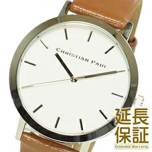 CHRISTIAN PAUL クリスチャンポール 腕時計 RW-02 ユニセックス 男女兼用 RAWコレクション SILVER/TAN