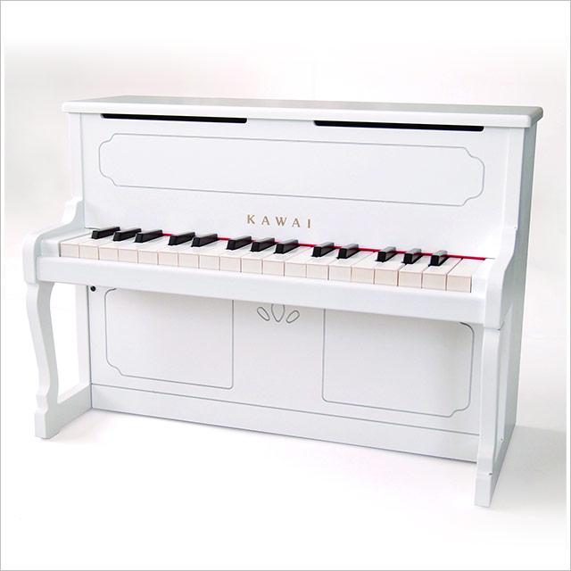 カワイ アップライトピアノ(白)