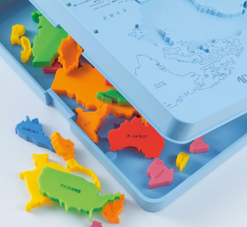 【送料無料】【あす楽】くもんの世界地図パズル【知育玩具】【知育教材】【おもちゃ】【幼児】