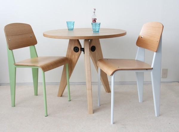 Chaoscollection rakuten global market jean prouve standard chair white - Table basse jean prouve ...