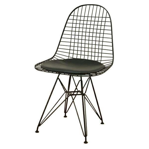 Eames style chair cushion great vintner white wood dining for Cheap eames style chair