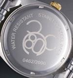 ミッキー80周年 天然ダイヤ腕時計