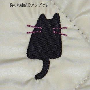 チュニックエプロン (ノアファミリー猫グッズ ネコ雑貨 ねこ柄)  051-H687 2016AW