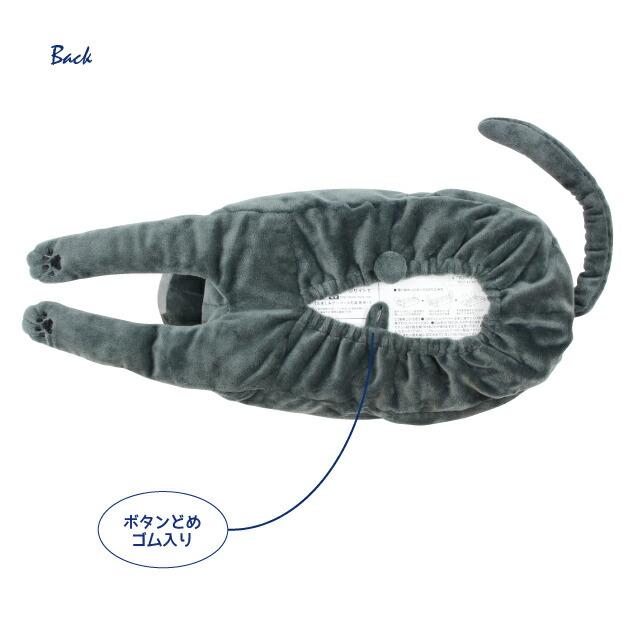 ファミネコぬいぐるみティッシュカバー(ノアファミリー 猫グッズ ネコ雑貨 ぬいぐるみ ティッシュカバー ねこ柄) 051-H844