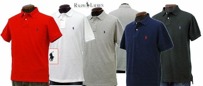ラルフローレン 半袖 鹿の子 ポロシャツ