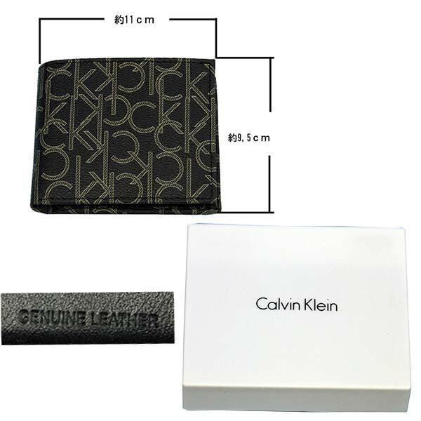 Calvin Kleinカルバンクライン モノグラム財布、ギフトボックス入り モノグラム財布、ギフトボックス入り