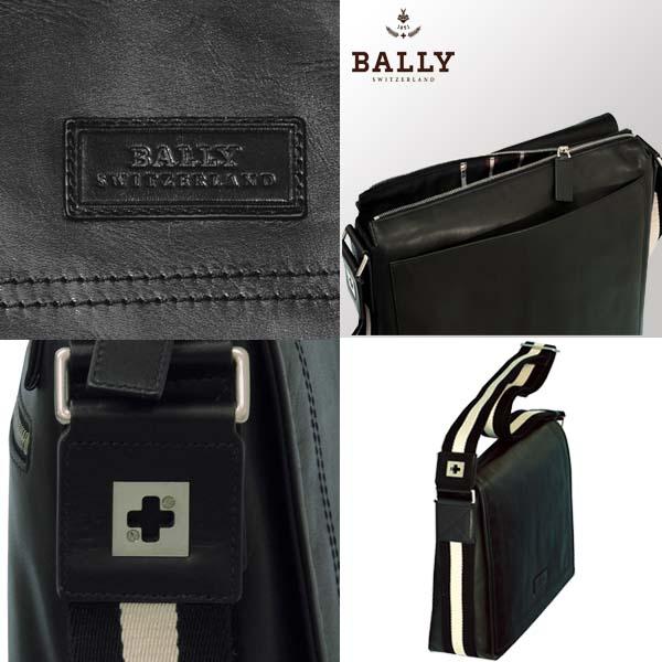 バリー 【BALLY】Triar-MD,ショルダーバッグ ブラック