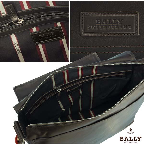 バリー 【BALLY】Triar-MD,ショルダーバッグ ポケット5コ