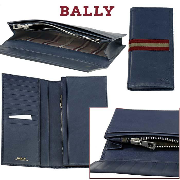 【BALLY】バリー TALIRO レザー ウォレット ダークティールグリーン