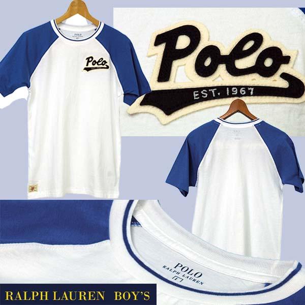 ラルフローレン POLO 半袖ベースボールTシャツ