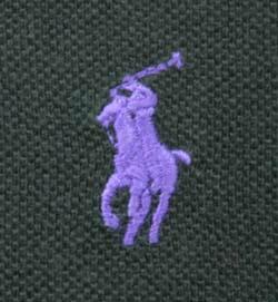 ラルフローレン 半袖 鹿の子 ポロシャツ カスタムフィット
