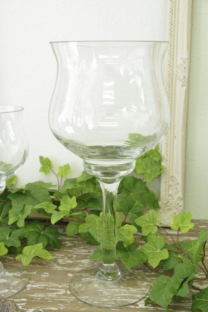 ガラス花瓶 アンティーク