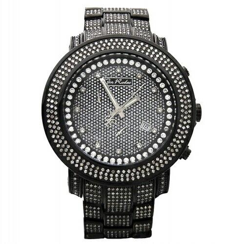 【送料無料】JoeRodeoジョーロデオダイヤモンド11.5カラットJuniorJJU306クラッシュダイヤモンドフェイスジュエリーウォッチメンズ腕時計ギフトJOERODEO