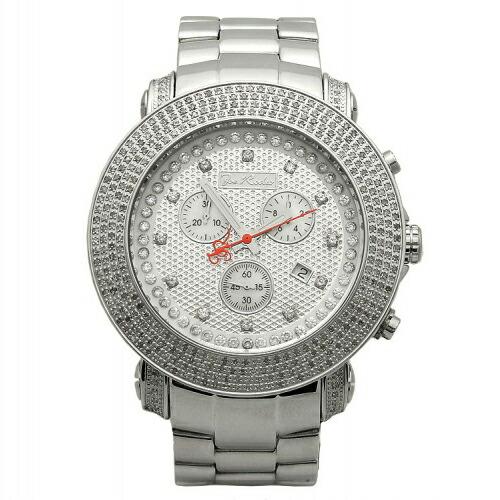 【送料無料】JoeRodeoジョーロデオダイヤモンド3.3カラットJuniorJJU54クラッシュダイヤモンドフェイスジュエリーウォッチメンズ腕時計ギフトJOERODEO