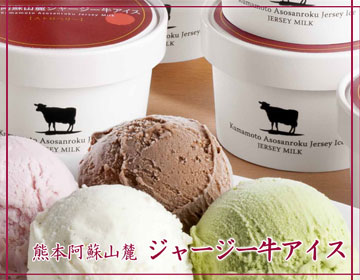 熊本阿蘇山麓 ジャージー牛アイス