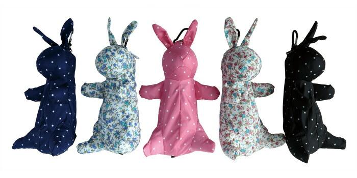 rabbitケース五段折折りたたみ傘イメージ