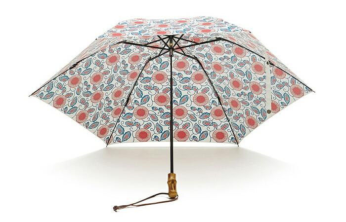 紅型花柄三つ折 折りたたみ傘