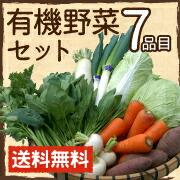 有機野菜セット7品目 鹿児島県産 オーガニック