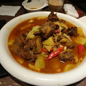 ウイグル料理 in 上海 塔哈尔新疆盛宴 - あず …