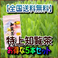 特上知覧茶【チャック付袋入り・100g×5本】