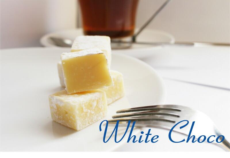 ホワイト生チョコレート
