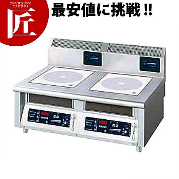 電磁調理器卓上型2連 MIR-1033TA【業務用プロ道具 厨房の匠】