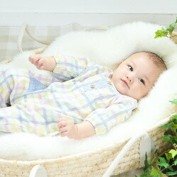 日本製の新生児ベビー服