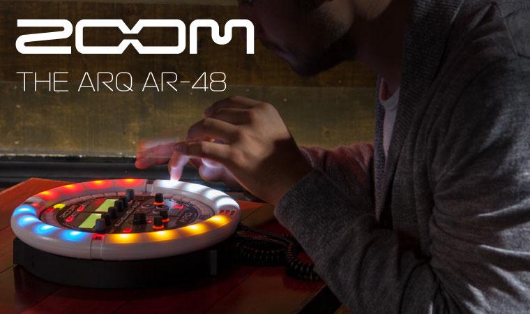 ZOOM ARQ AR-48 Aero RhythmTrak リズムマシン
