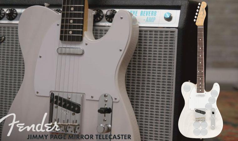 Fender Jimmy Page Mirror Telecaster RW White Blonde エレキギター