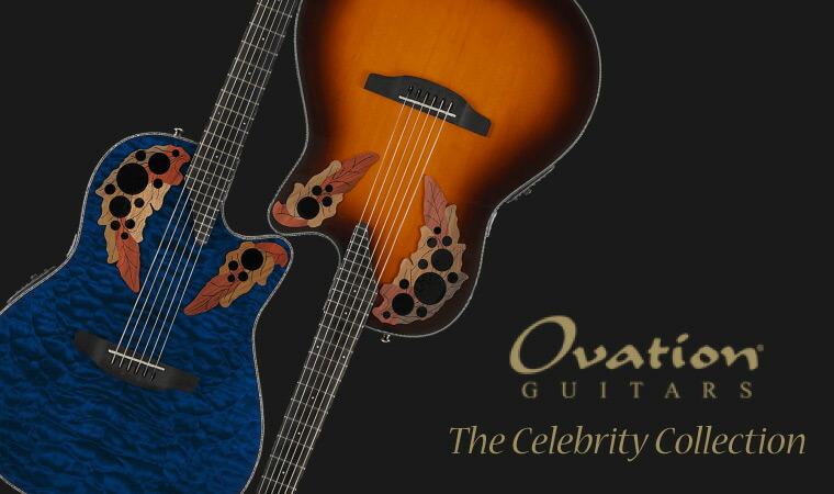OVATION Celebrity エレクトリックアコースティックギター 各種
