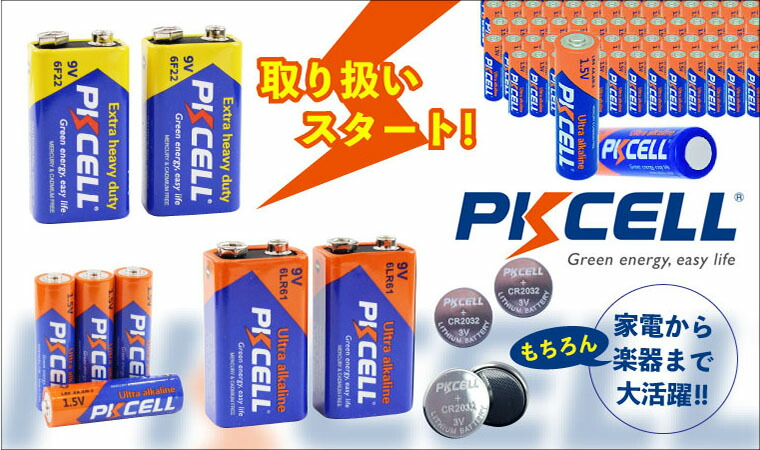 ピクセルバッテリー各種