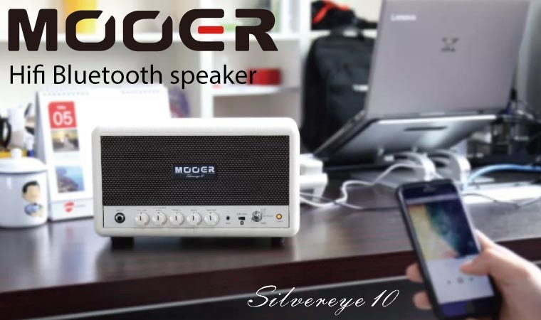 Mooer Silvereye 10 Bluetoothスピーカー