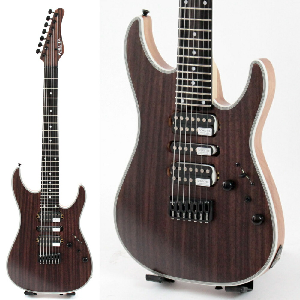 SCHECTER NV-7-24-MH-FXD RNT/E 7弦 エレキギター